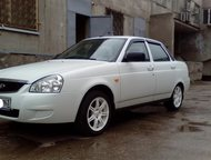 Lada Priora белый седан, 2013 г, , пробег 25 000 - 29 999 км, 1, 6 MT (99 л, с,