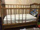 Кровать,с матрасом