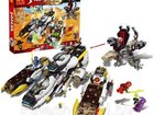 Лего ninja, lele 79347 аналог 1133 дет