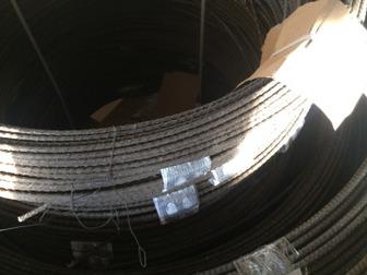 Акция!!! Арматура стеклопластиковая 6 мм от производится,  Размер бухты 100 метров, диаметр бухты 1,2 метра, можно увезти на легковом автомобиле,  Вся арматура в Артеме