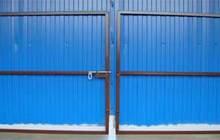 Садовые калитки и ворота собственного производства