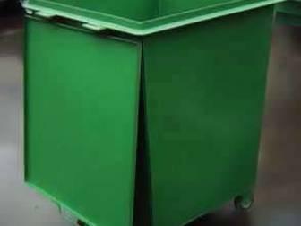 Просмотреть фотографию Разное Контейнеры ТБО мусорные металлические, 0,75 литров 39230853 в Балаково