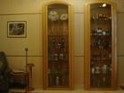 Свежее foto  Шкафы -витрины для гостиной из натурального дерева 40447762 в Барнауле