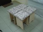 Продам кухонные зоны, обеденный стол 800х600, 900х600