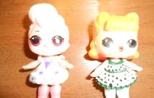 Куклы в ассортименте и игрушечная мебель