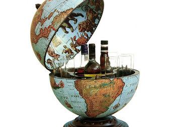 Смотреть фотографию Разное глобус бар под старину (производство -Гон-Конг) 34410864 в Барнауле
