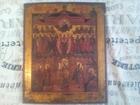 Уникальное фото Антиквариат Икона Покров Пресвятой Богородицы, середины 19 века, 73248456 в Белой Калитве