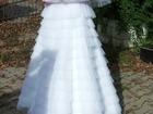 Фото в Одежда и обувь, аксессуары Свадебные платья Продается красивое свадебное платье. Одевалось в Белогорске 10000