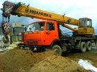 Свежее фото Автокран Услуги Аренда Автокрана 5 тонн, 25 тонн, 33495044 в Березовском