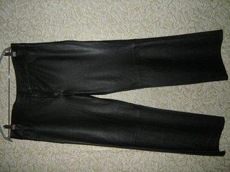 Уникальное фотографию  брюки кожаные 34224312 в Бийске