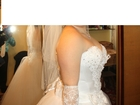 Фото в   Продам свадебное платье без химчистки. в Биробиджане 7000