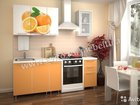 Кухонные гарнитуры 1,5 м лдсп с фотопечатью