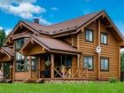 Свежее изображение Строительство домов Дома и бани из оцилиндрованного и рубленного бревна (Сибирский лес) 51444871 в Братске