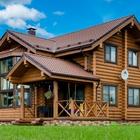 Дома и бани из оцилиндрованного и рубленного бревна (Сибирский лес)