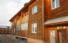 Квартира в новом деревянном доме