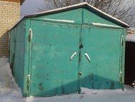 продам гараж гараж металлический 6х3, 2 на полозьях, в отличном состояние