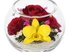 Увидеть изображение Другие предметы интерьера Композиция из роз и орхидей (арт, BSM3) 53940193 в Челябинске