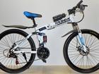 Просмотреть изображение Велосипеды Велосипед GREEN BIKE и TASER, 2 амортизатора, складной 68564425 в Челябинске