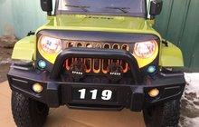 Резиновые колёса 4 WD Новый электромобиль