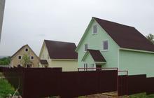 Продается новый дом в д, Тендиково,г/п Дмитров,170 кв, м, на участке 4 сотки