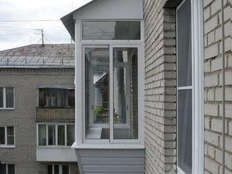 Увидеть фото  Окна из ПВХ, алюминия, Остекление зданий, 32296416 в Дмитрове