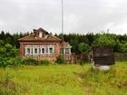 Фотография в   Продается крепкий бревенчатый дом. Фундамент в Егорьевске 1700000