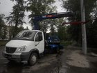 Смотреть foto Эвакуатор Эвакуатор ГАЗ 33106 с ломаной платформой и КМУ 33108037 в Екатеринбурге
