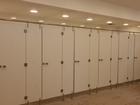 Увидеть фото  Нержавеющая фурнитура для сантехнических кабин и туалетных перегородок Hpl, Система сантехкабин модульных для спорткомплексов и торговых центров 36578434 в Екатеринбурге