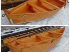Смотреть фотографию  Лодка деревянная 4м, цвет Орегон 61270782 в Челябинске
