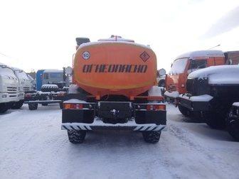 Просмотреть фото  Автотопливозаправщик на базе Урал 7,5 куб, м, 2013 г, в, без пробега в наличии 33116103 в Ангарске