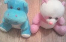 Бегемот и мишка