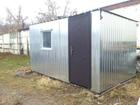 Уникальное foto  Бытовка (вагончик) для строителей, Доставка бесплатная 37694592 в Фурманове