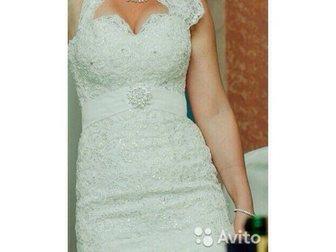 Увидеть фотографию  продам элегантное, красивое платье со шлейфом и аксессуарами к нему 32927015 в Гатчине