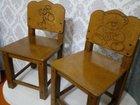 Детский деревянный стульчик
