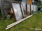 Продам металические балконные окна