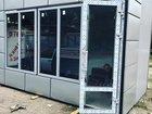 Комплект окон с алюминиевой дверью