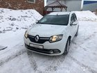 Renault Logan 1.6МТ, 2016, битый, 70000км