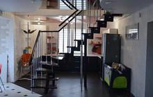 Лестницы на модульном каркасе под ключ