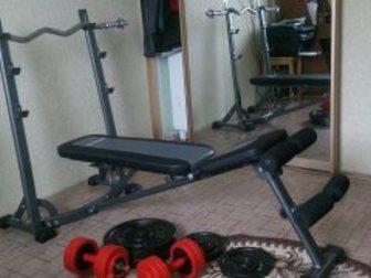 Уникальное фото Спортивный инвентарь скамья со стойкой для штанги 32833189 в Хабаровске