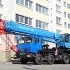 Автокран с грузоподъемностью 40 тонн, Мы в Электрогорске