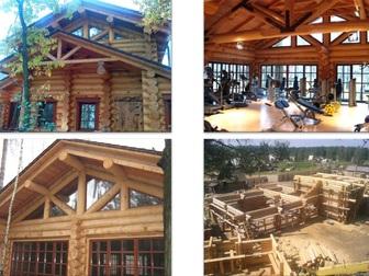 Просмотреть фото Строительство домов Рубленные дома и бани из Сибирской лиственницы 39352490 в Иркутске