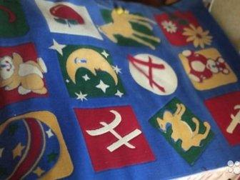 Монгольский ковер,   В хорошем состоянии, размеры детского ковра есть на фото, Состояние: Б/у в Иркутске