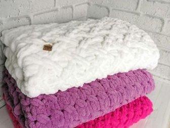 Плед из Puffy Размер: 85*85Возможно изготовление любого цвета и размера, Состояние: Новый в Иркутске