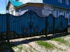 Ворота с элементами худ.ковки