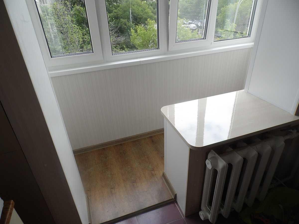 Увеличиваем площадь жилой комнаты за счёт балкона.