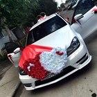 Прокат свадебных украшений для машин