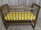 Детская кроватка-качалка