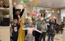 Детский день рождения в кулинарной студии Вилка