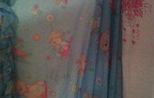 детскую кроватку-качалку
