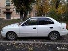 Hyundai Accent 1.5AT, 2002, седан